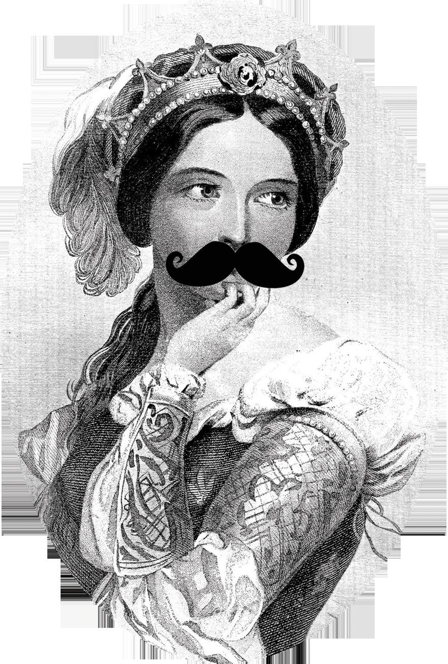 mustach-princess1