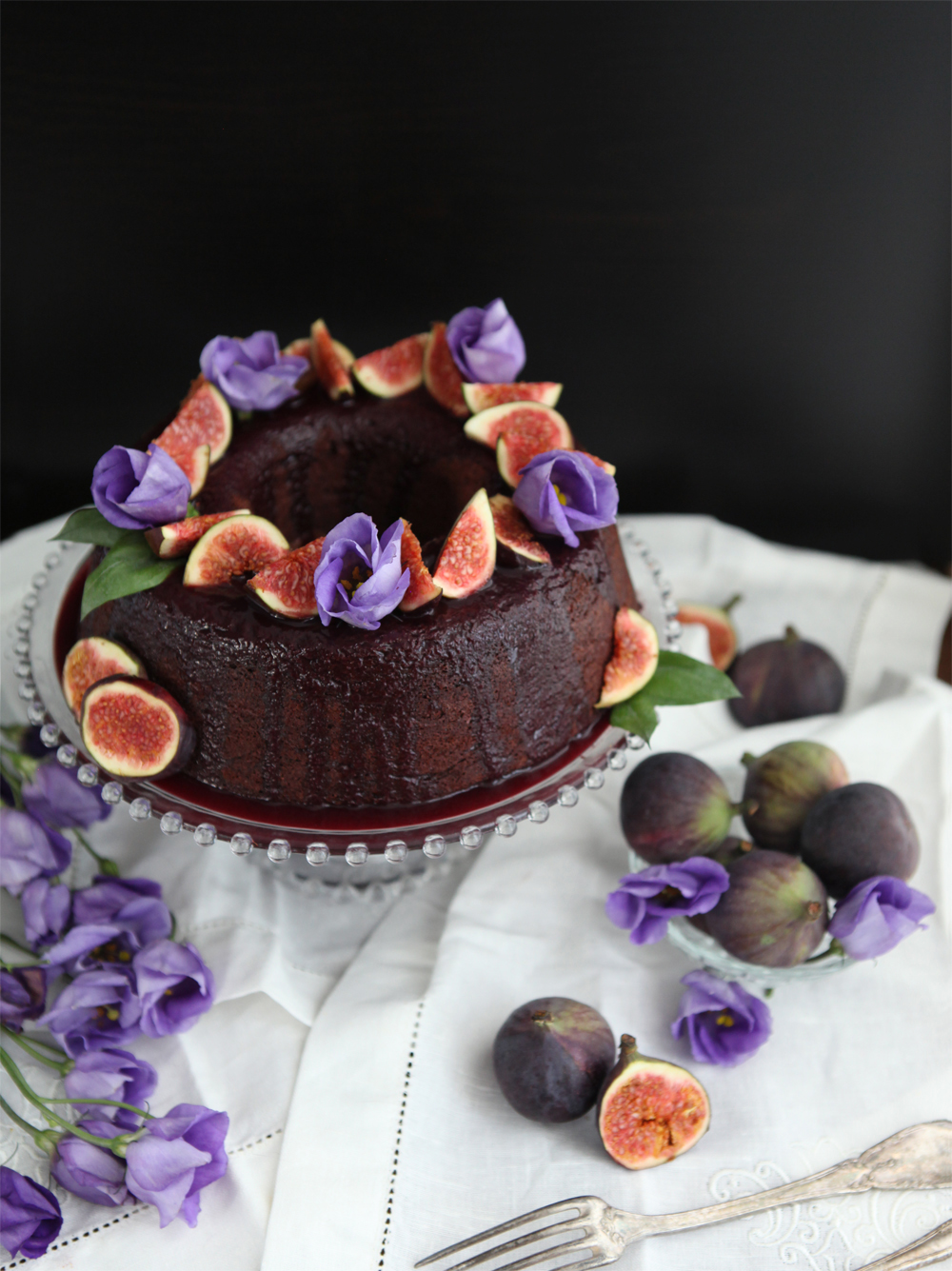 Don't mess with the rabbit - Gateau chocolat-mures-figues 2