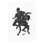 Daft Punk - Art Print