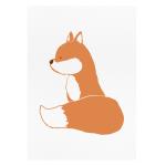 Dontmesswiththerabbit.fr - Cutie Foxy - art print