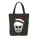 TTB skull - Black tote bag