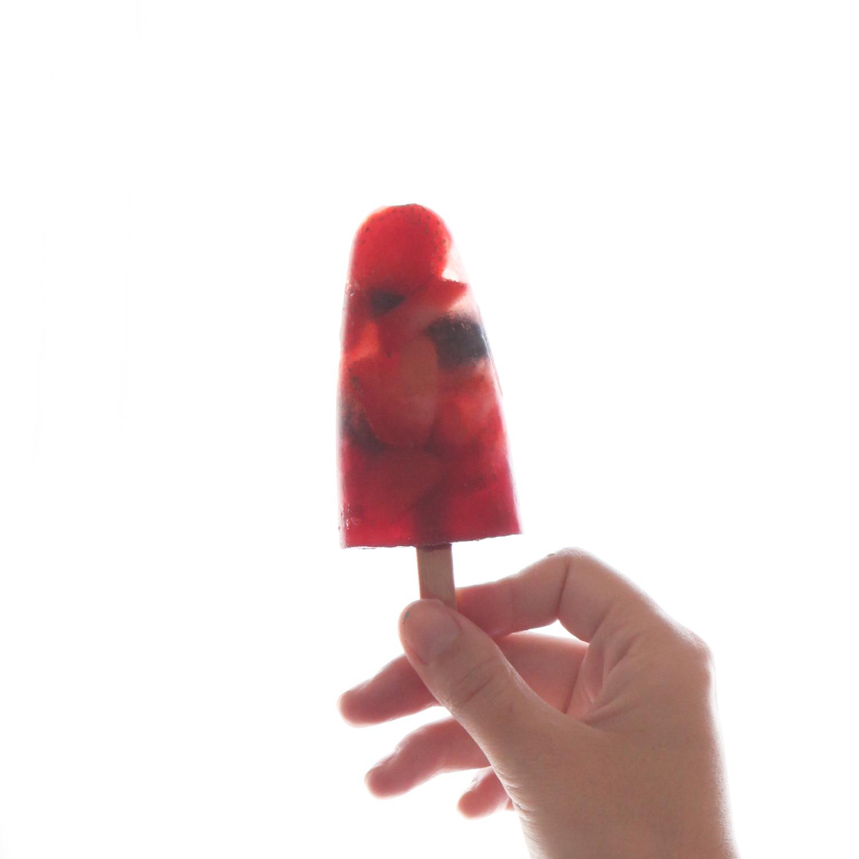 Don't mess with te rabbit - IKEA - les glaces aux fruits anti canicule - framboise fraises myrtilles