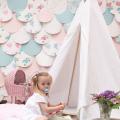 Don't mess with the rabbit - decors bapteme victoria - Elsa