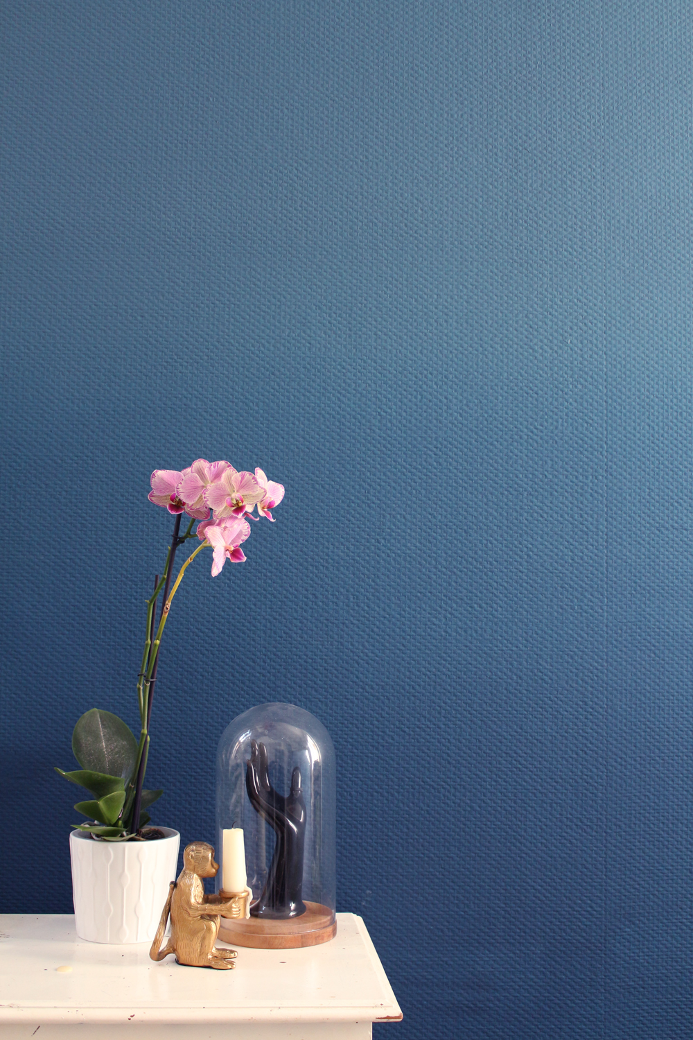 Don't mess with the rabbit - DIY ombre wall - mercadier - orchidee